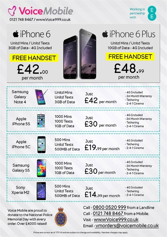 Great Voice Mobile deals on iPhone 6 for IPA Members