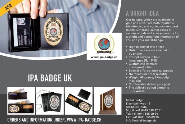 Metal badge wallet reheart Images